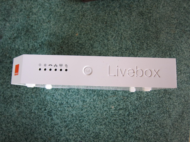 fréquence livebox orange